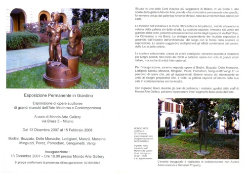 Mostra - Milano Brera