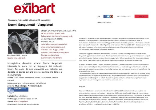 pubblicazione Exibart2
