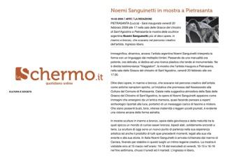 pubblicazione Schermo